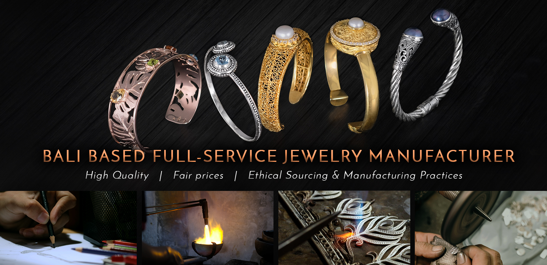 Bali Based Full Service Jewelry Manufacturing